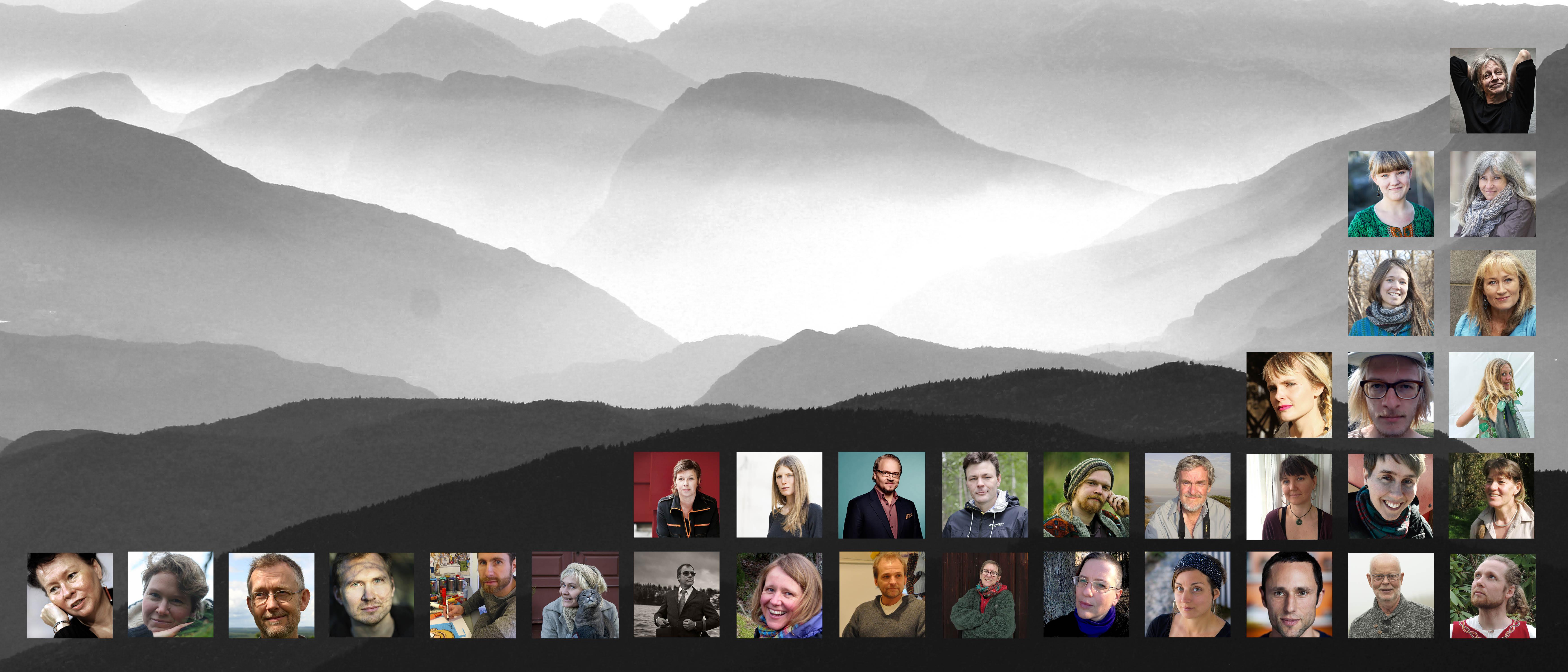 Alla medverkande i antologin | Sånger från jorden