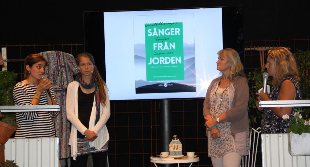 Amanda Martling, Lovisa Börjeson och Eva Sanner